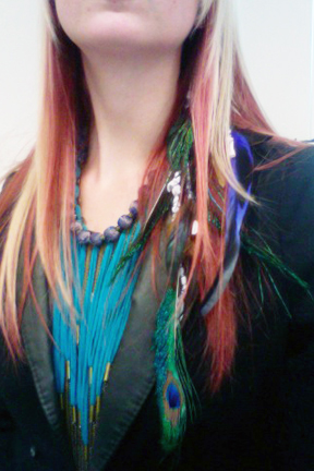 2011 Hair Feathers