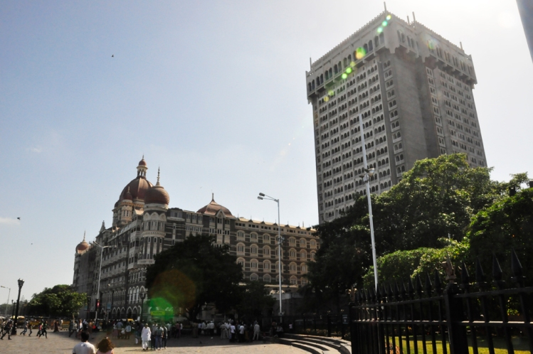 Taj Mahal Palace and (super ugly) Tower