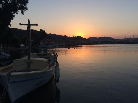 sunrise at Ucagiz, heading towards Aperlae