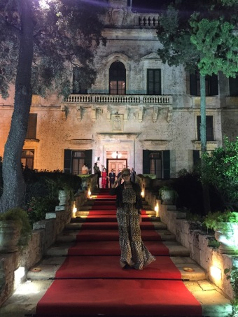 Arriving for dinner at Verdala Palace (© Laurel Munshower)