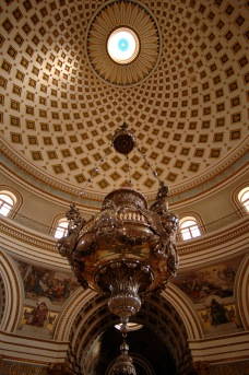 The interior of the rotunda (© visitmalta.com)