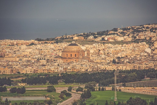 Mosta and the Church of the Assumption of our Lady aka the Rotunda of Mosta (© visitmalta.com)