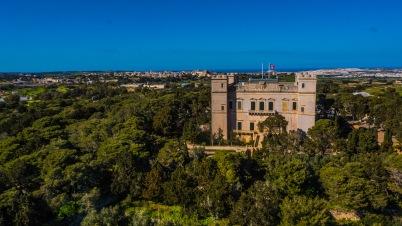 Verdala Palace aerial shot (© visitmalta.com)